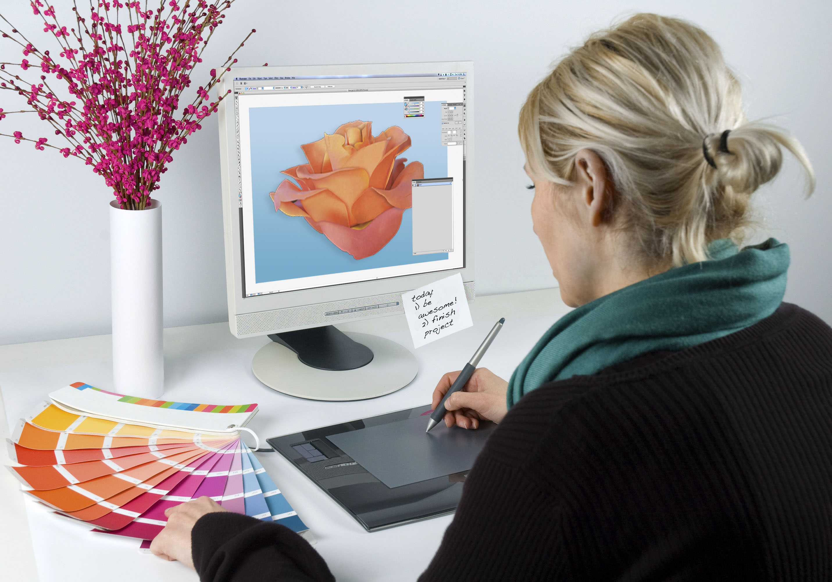 Trendy Graphic Design: A Great Career In Graphic Designing